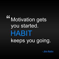 create habits not goals