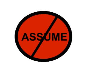 assume-dont