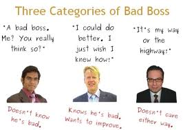 bad boss types
