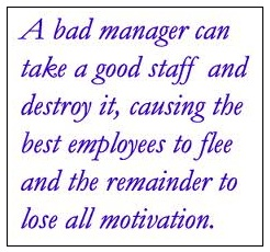 bad manager