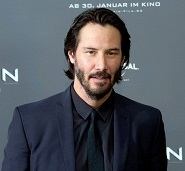 how to be happy in life Keanu Reeves