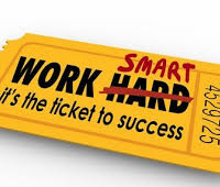 success is about working smarter